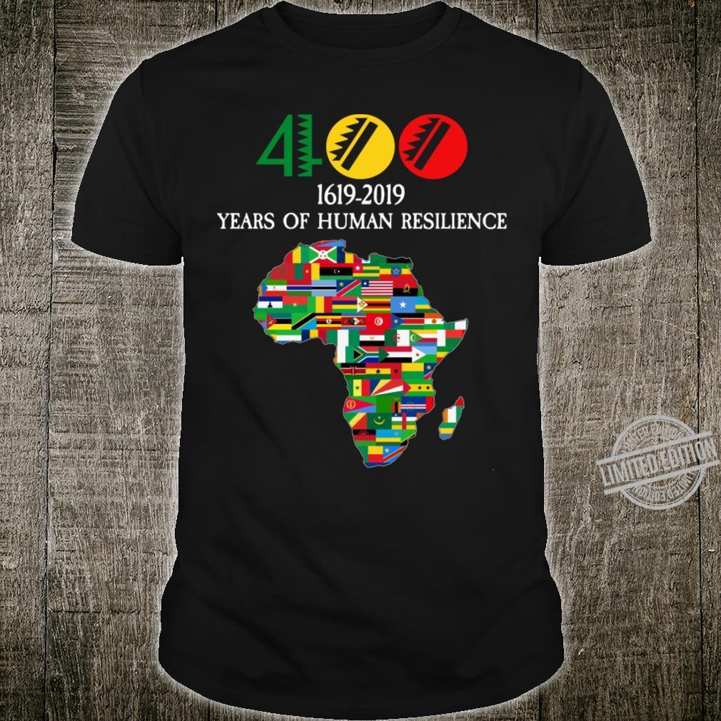 400 Years Black History Shirt
