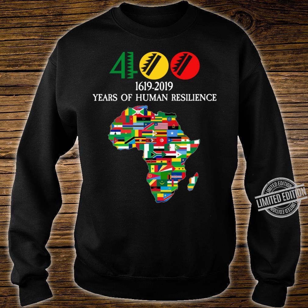400 Years Black History Shirt sweater