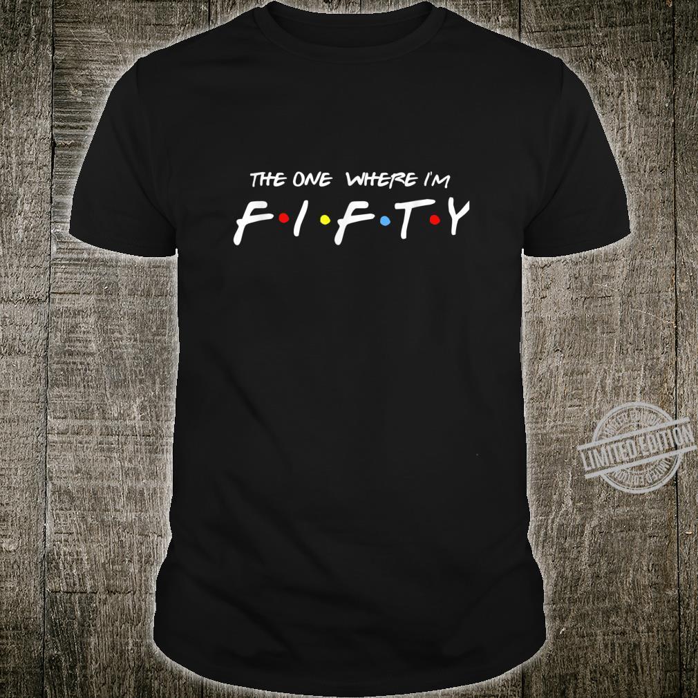 50 Birthday retro friends Shirt