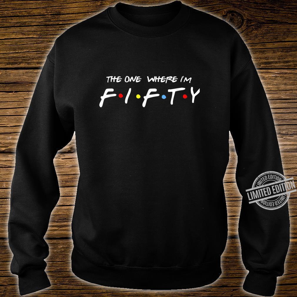 50 Birthday retro friends Shirt sweater