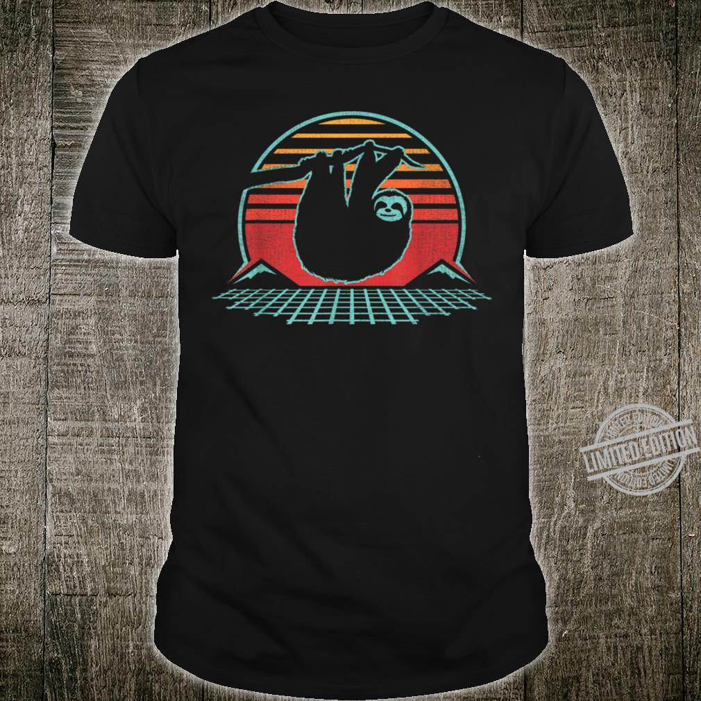 80s Style Zoologist Animal Shirt