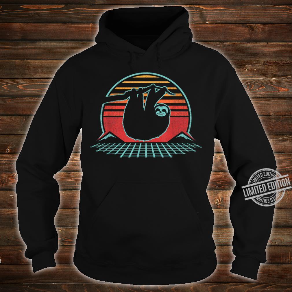 80s Style Zoologist Animal Shirt hoodie