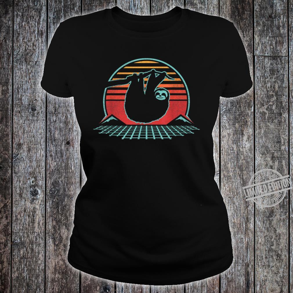 80s Style Zoologist Animal Shirt ladies tee