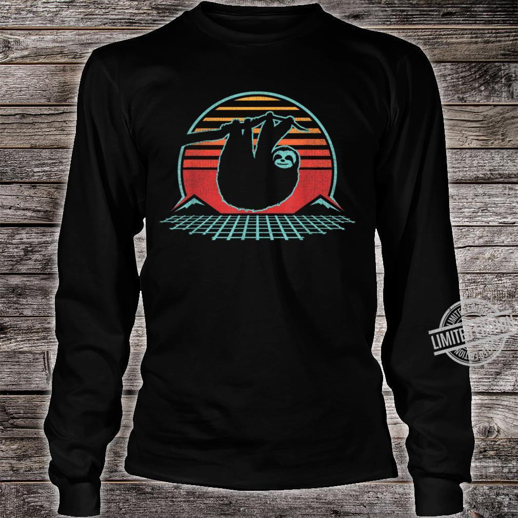 80s Style Zoologist Animal Shirt long sleeved