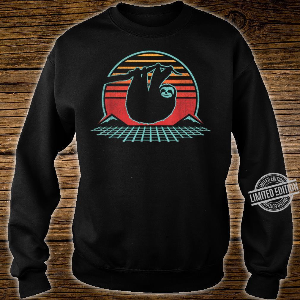 80s Style Zoologist Animal Shirt sweater