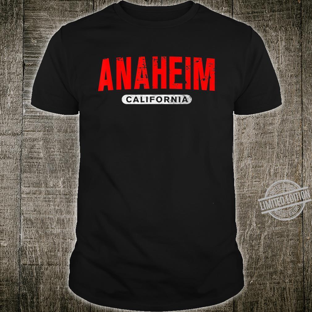 ANAHEIM CA CALIFORNIA USA City Roots Vintage Shirt
