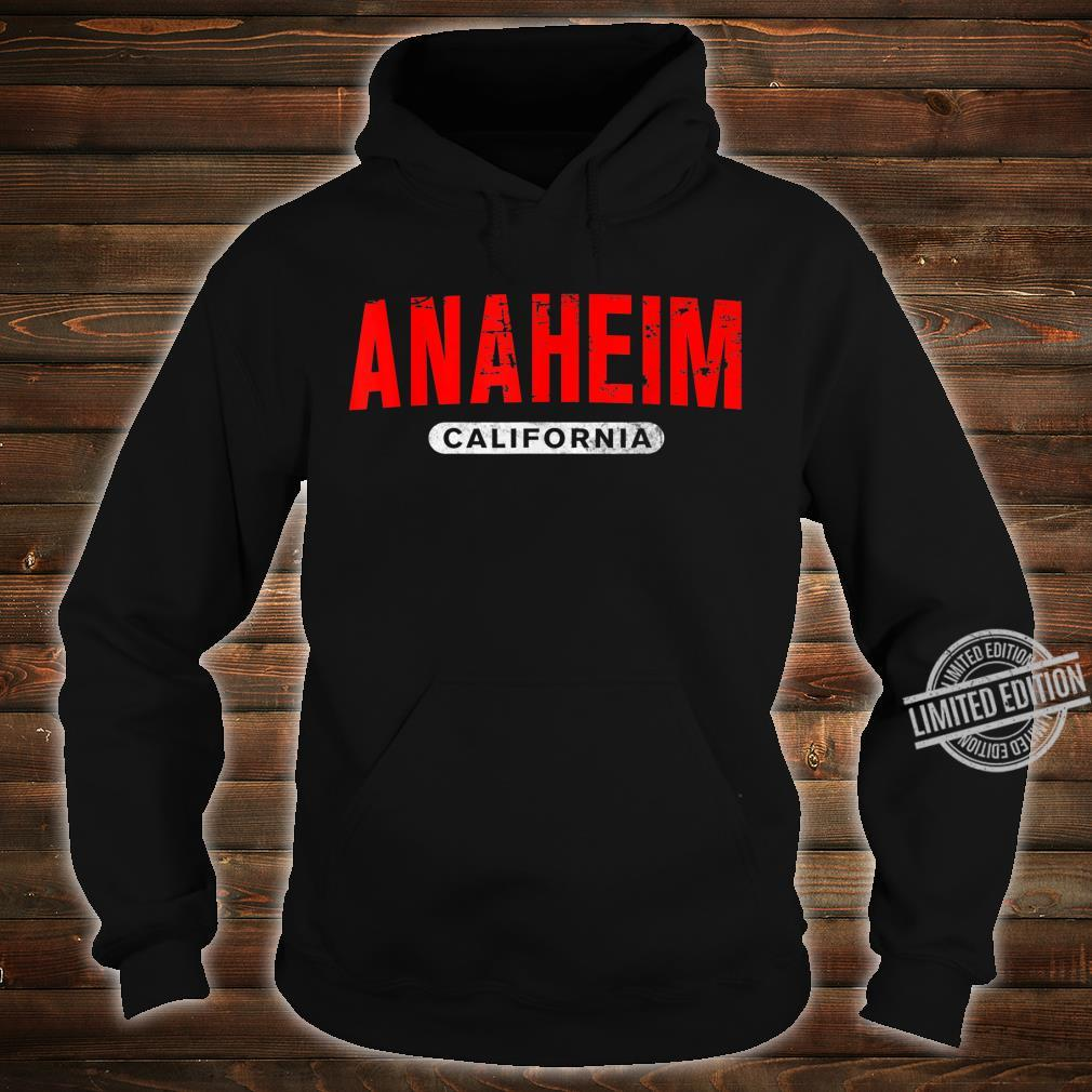 ANAHEIM CA CALIFORNIA USA City Roots Vintage Shirt hoodie