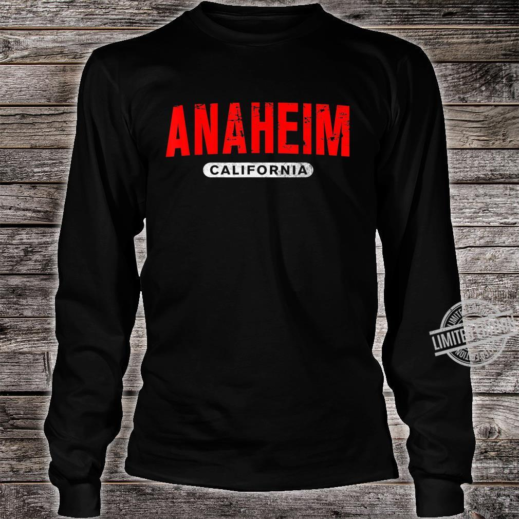 ANAHEIM CA CALIFORNIA USA City Roots Vintage Shirt long sleeved