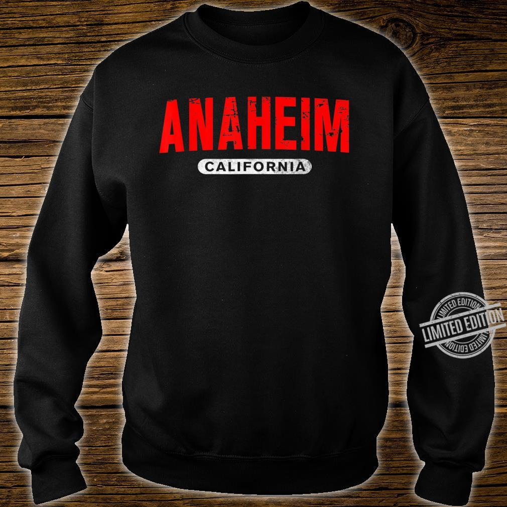 ANAHEIM CA CALIFORNIA USA City Roots Vintage Shirt sweater