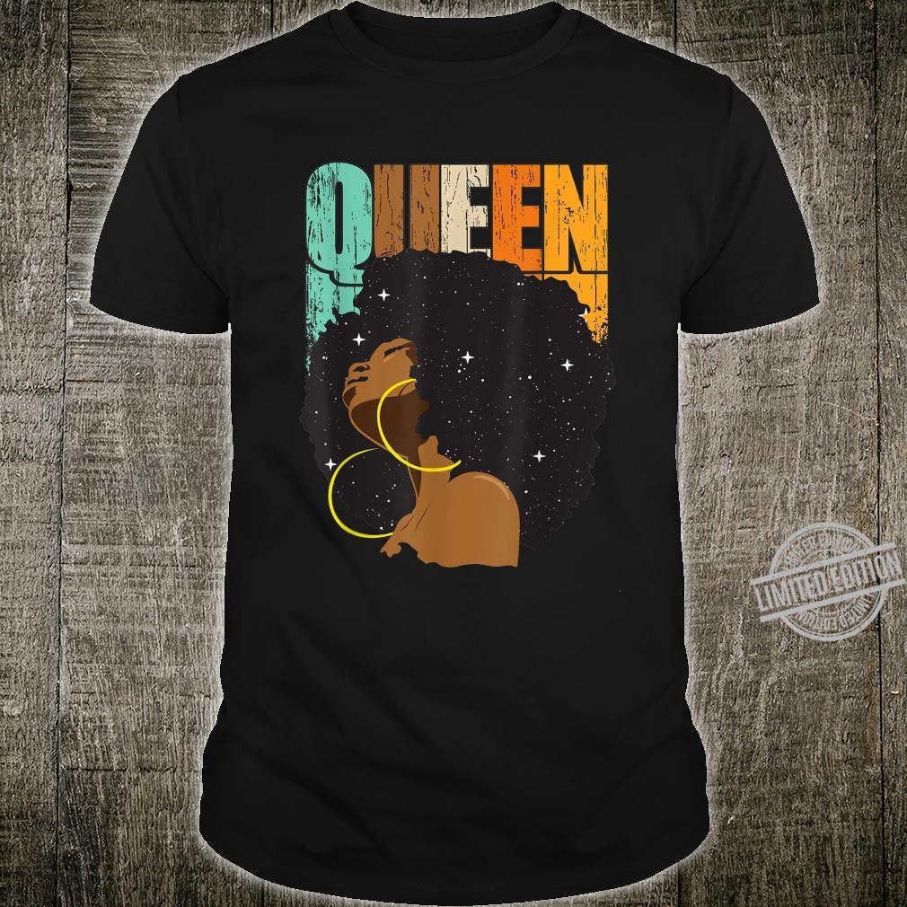 African American for Educated Strong Black Queen Shirt