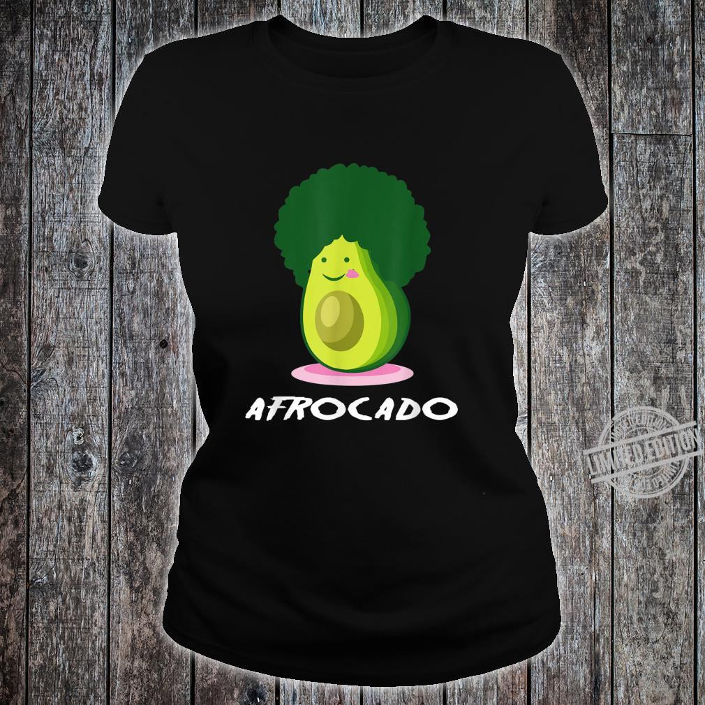 Afrocado African Food Shirt ladies tee