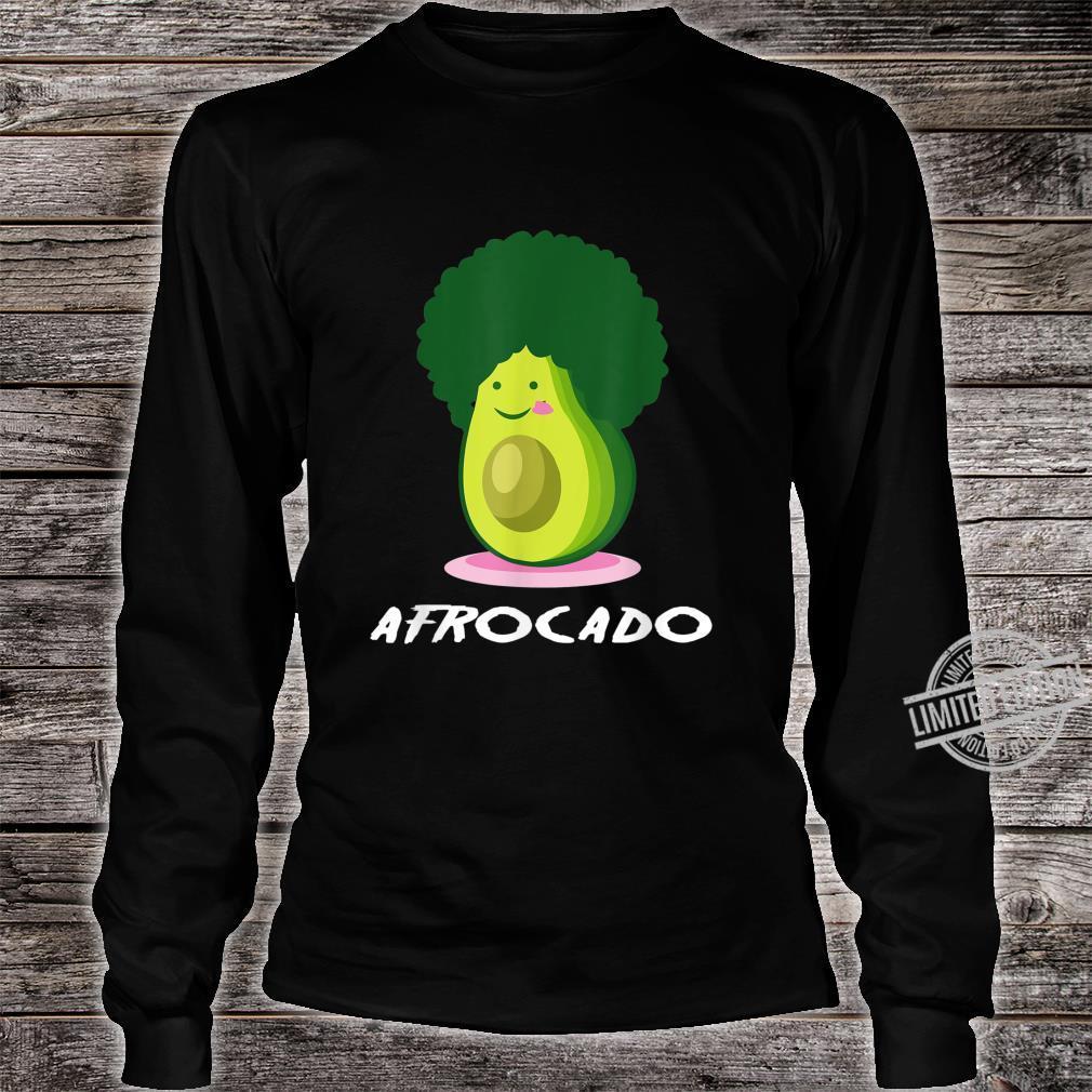 Afrocado African Food Shirt long sleeved