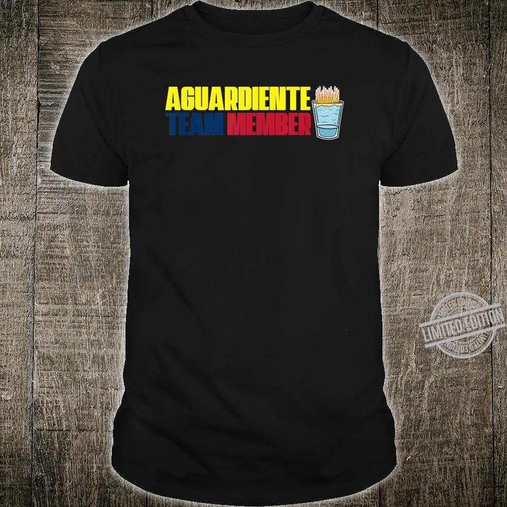 Aguardiente Team Member Colombian Pride Shirt