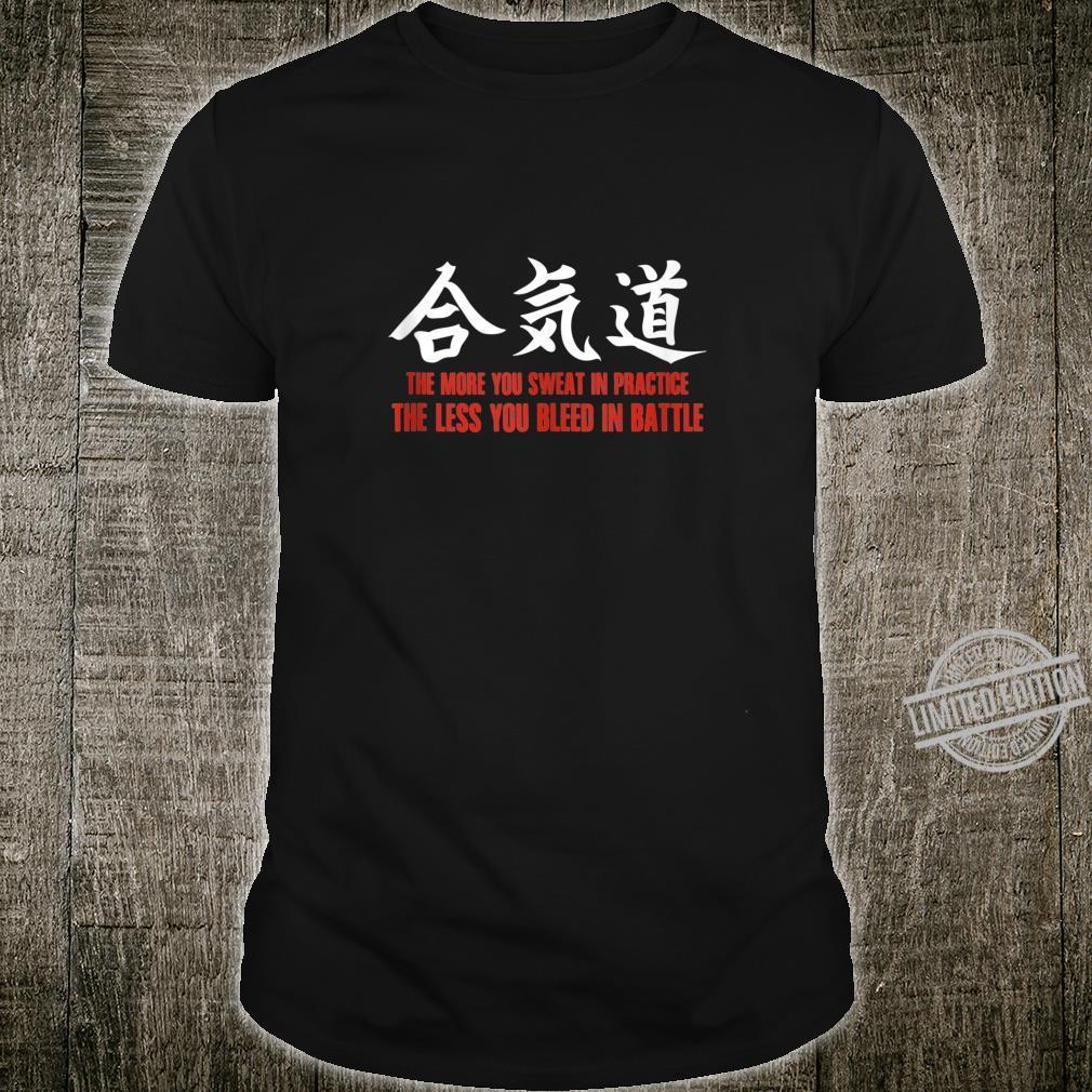Aikido Japanese Martial Arts Battle Shirt