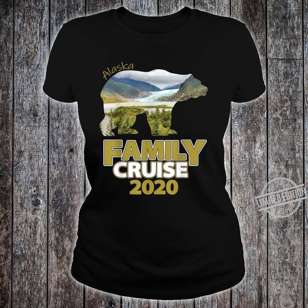 Alaska Family Cruise 2020 For The Family Cruise Vacation Shirt ladies tee