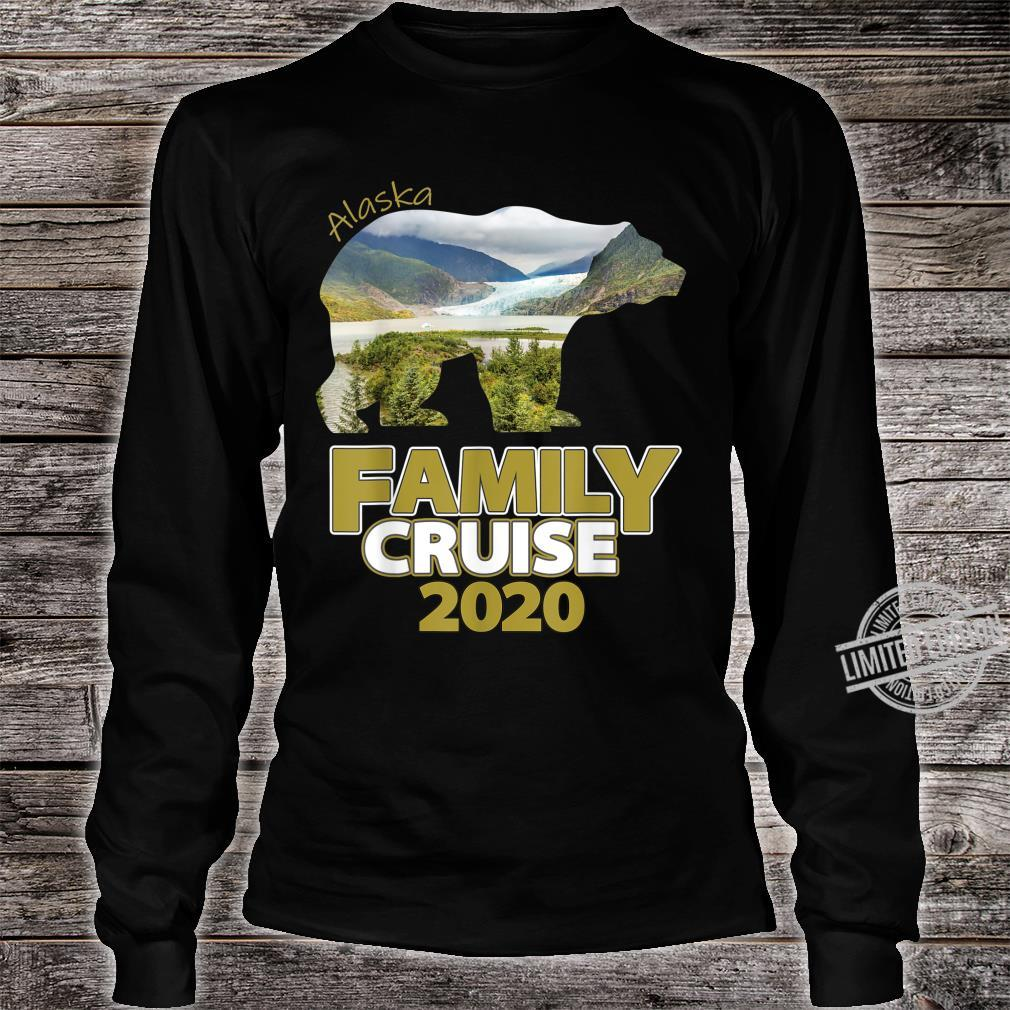 Alaska Family Cruise 2020 For The Family Cruise Vacation Shirt long sleeved