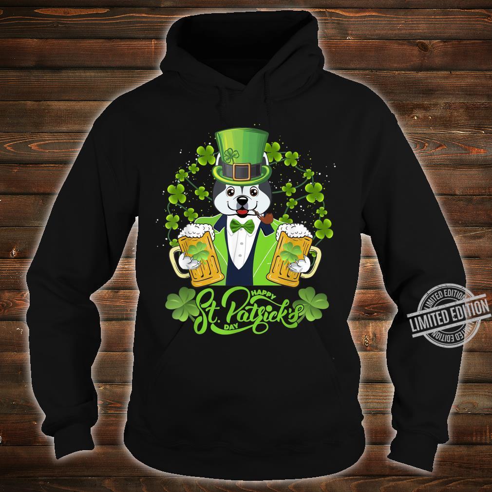 Alaskan Dog Shamrock St Patrick's Day Shirt hoodie