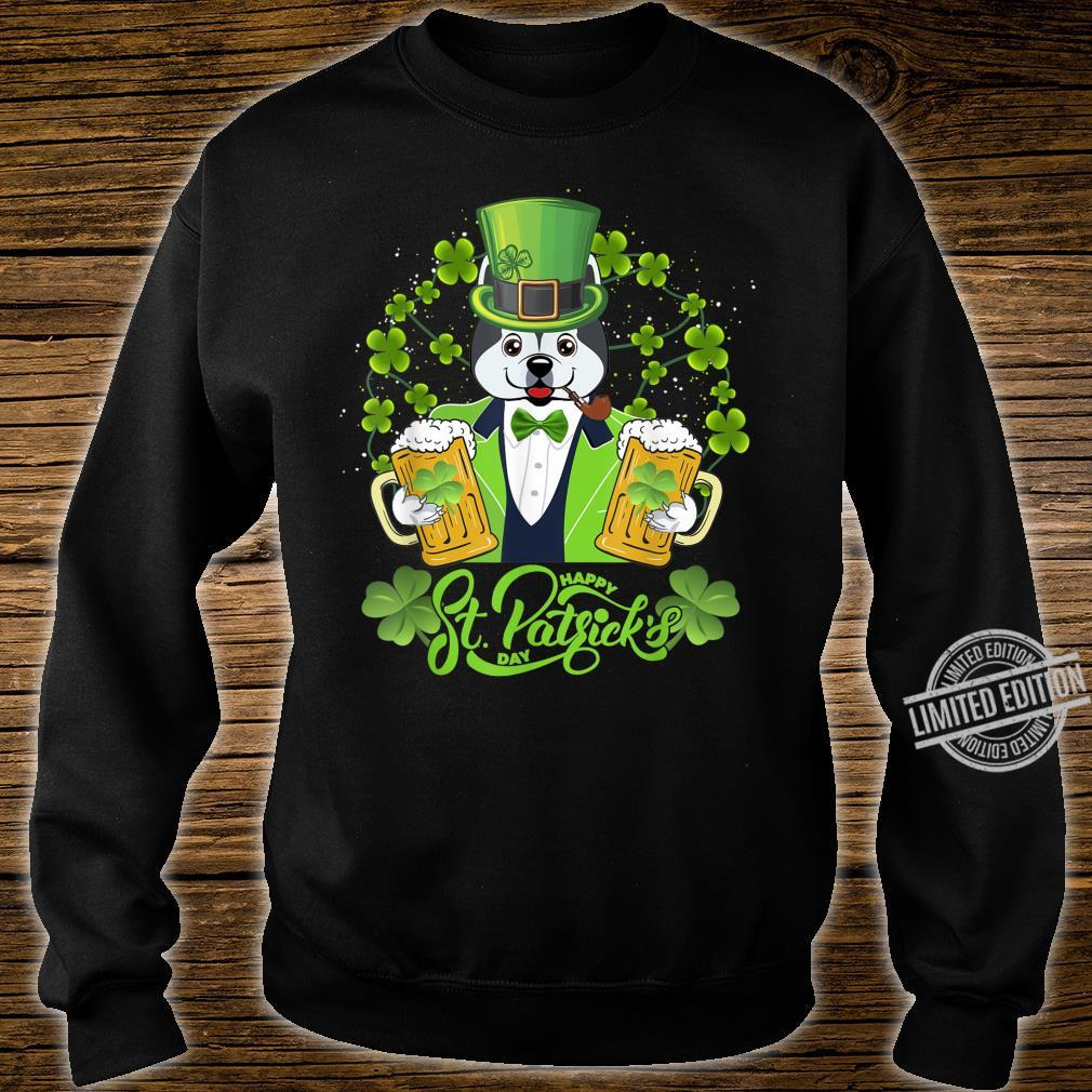 Alaskan Dog Shamrock St Patrick's Day Shirt sweater
