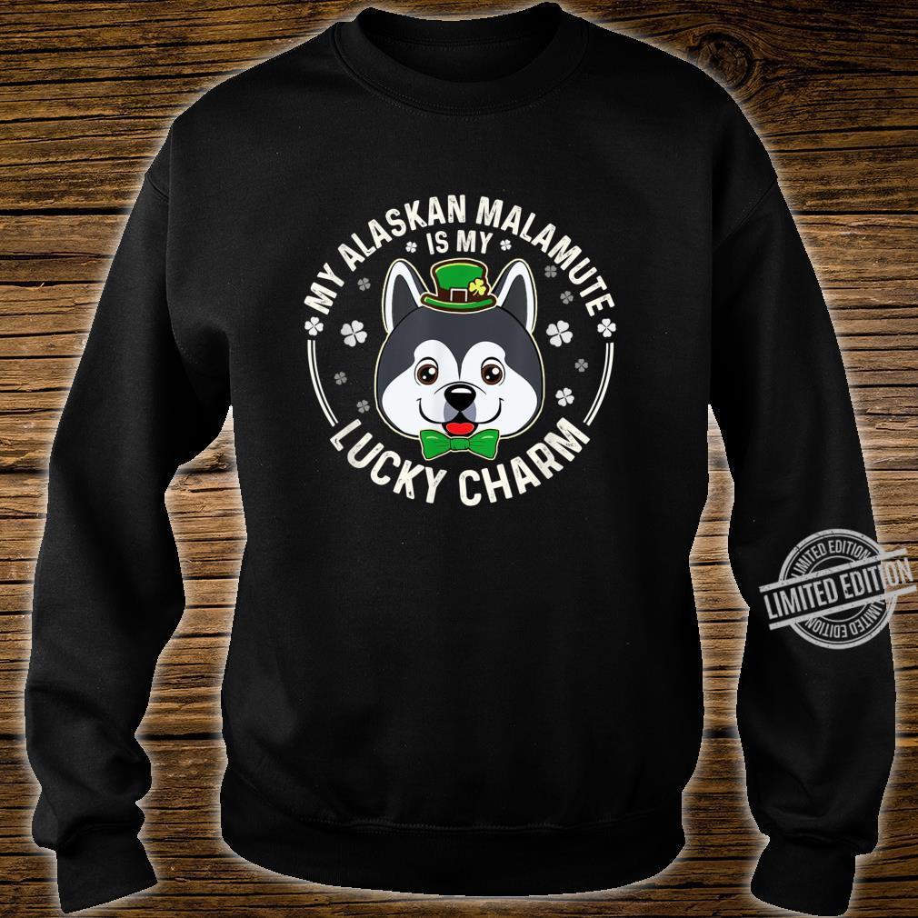 Alaskan Malamute Is My LuckyCharmClover Irish Patricks Shirt sweater