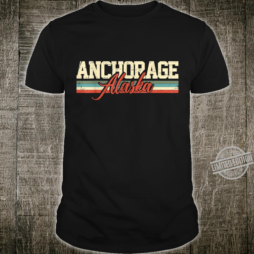 Anchorage Alaska Vintage Shirt