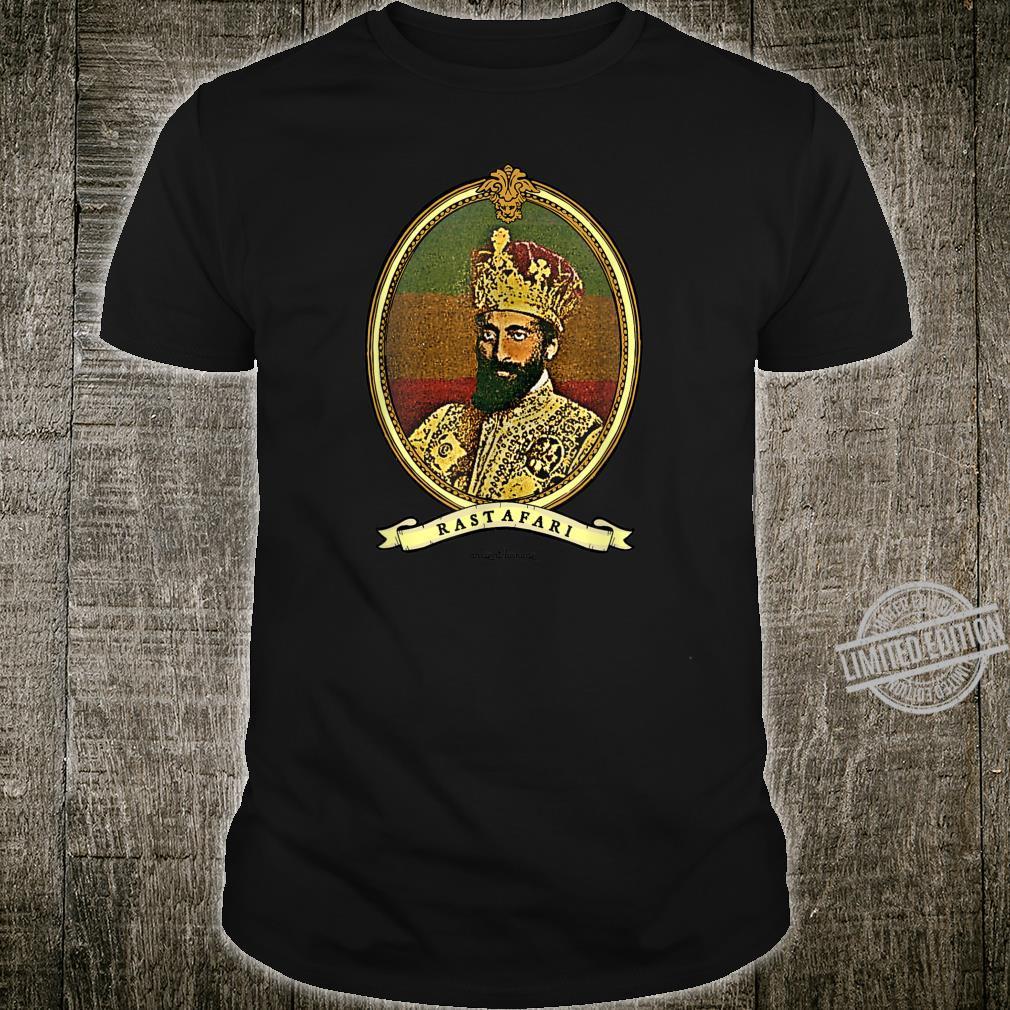 Ancient Lionage Vintage Rasta Classic Rastafari Shirt