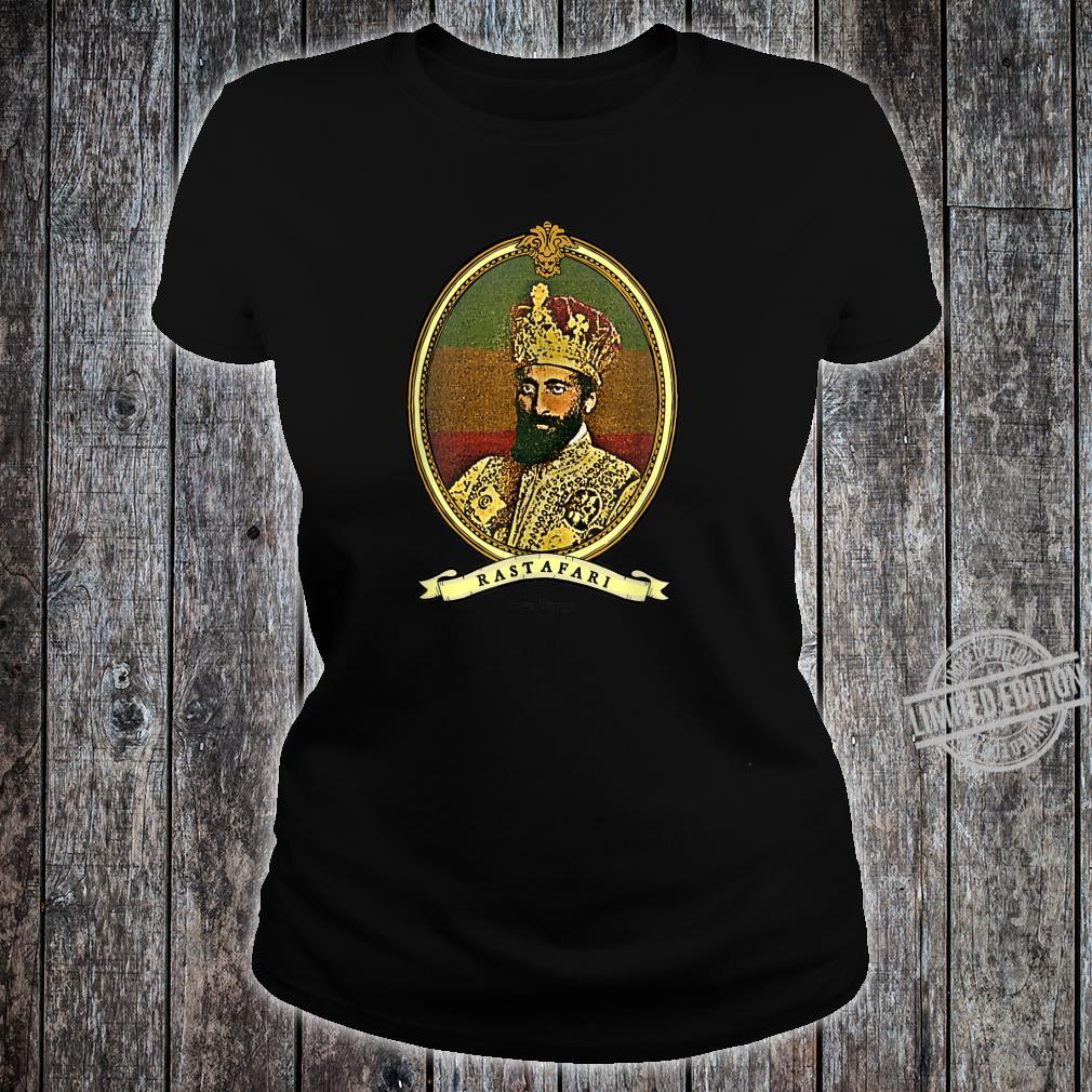 Ancient Lionage Vintage Rasta Classic Rastafari Shirt ladies tee