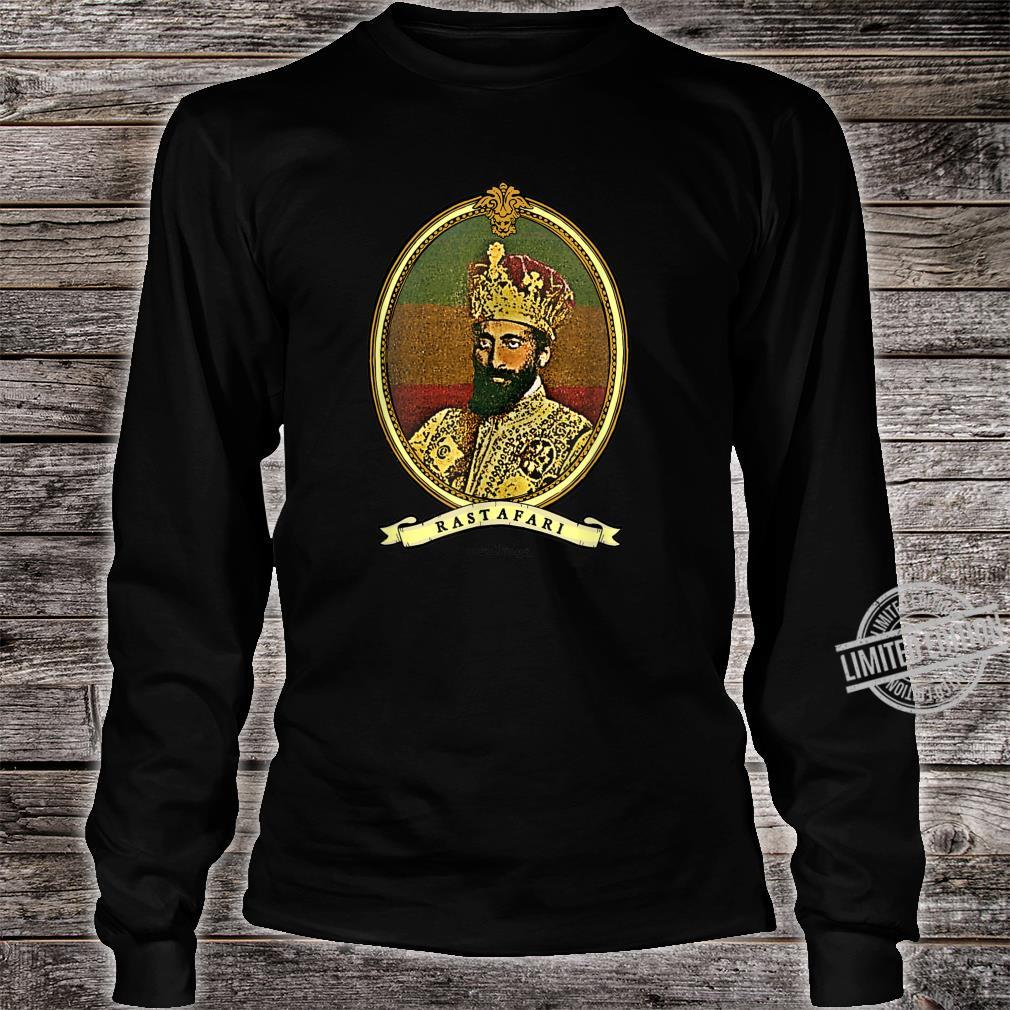 Ancient Lionage Vintage Rasta Classic Rastafari Shirt long sleeved