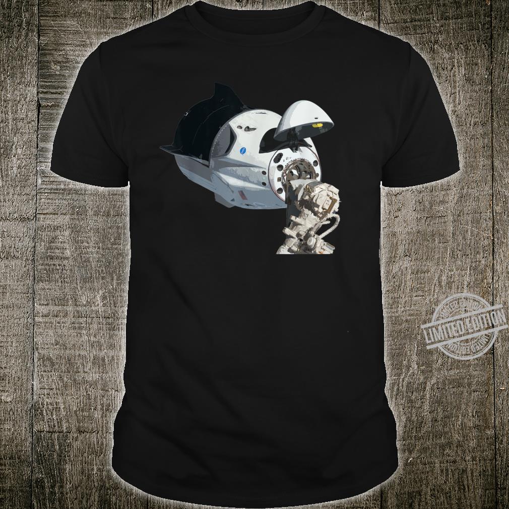 Andocken des Raumdrachens an die Raumstation Internationale Shirt