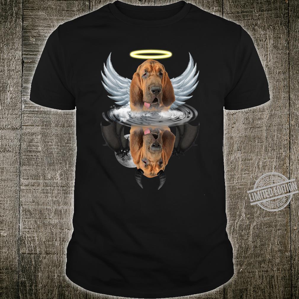 Angel Bloodhound Shadow Under Water Devil Bloodhound Shirt
