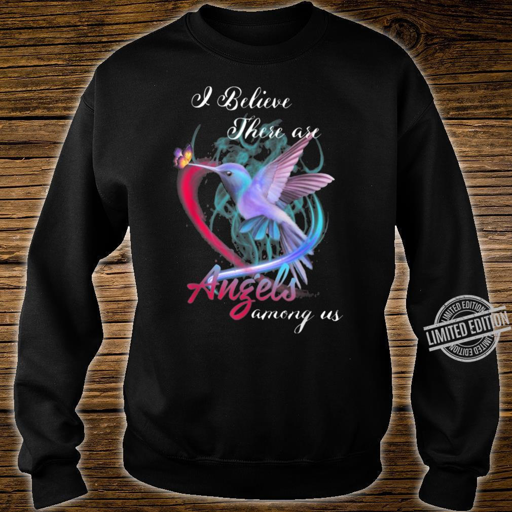 Angels among us Hummingbird Shirt sweater