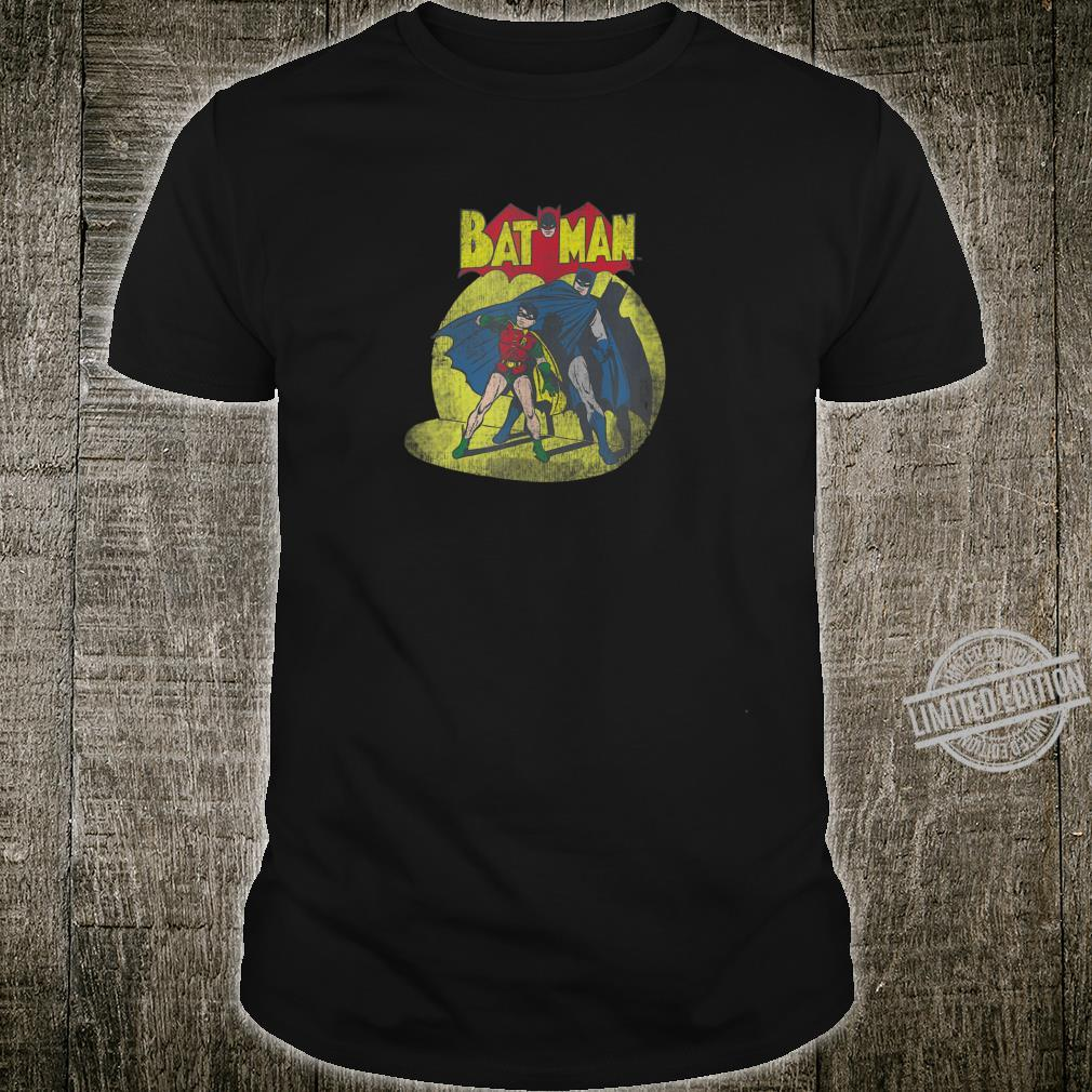Batman and Robin In The Spotlight Shirt
