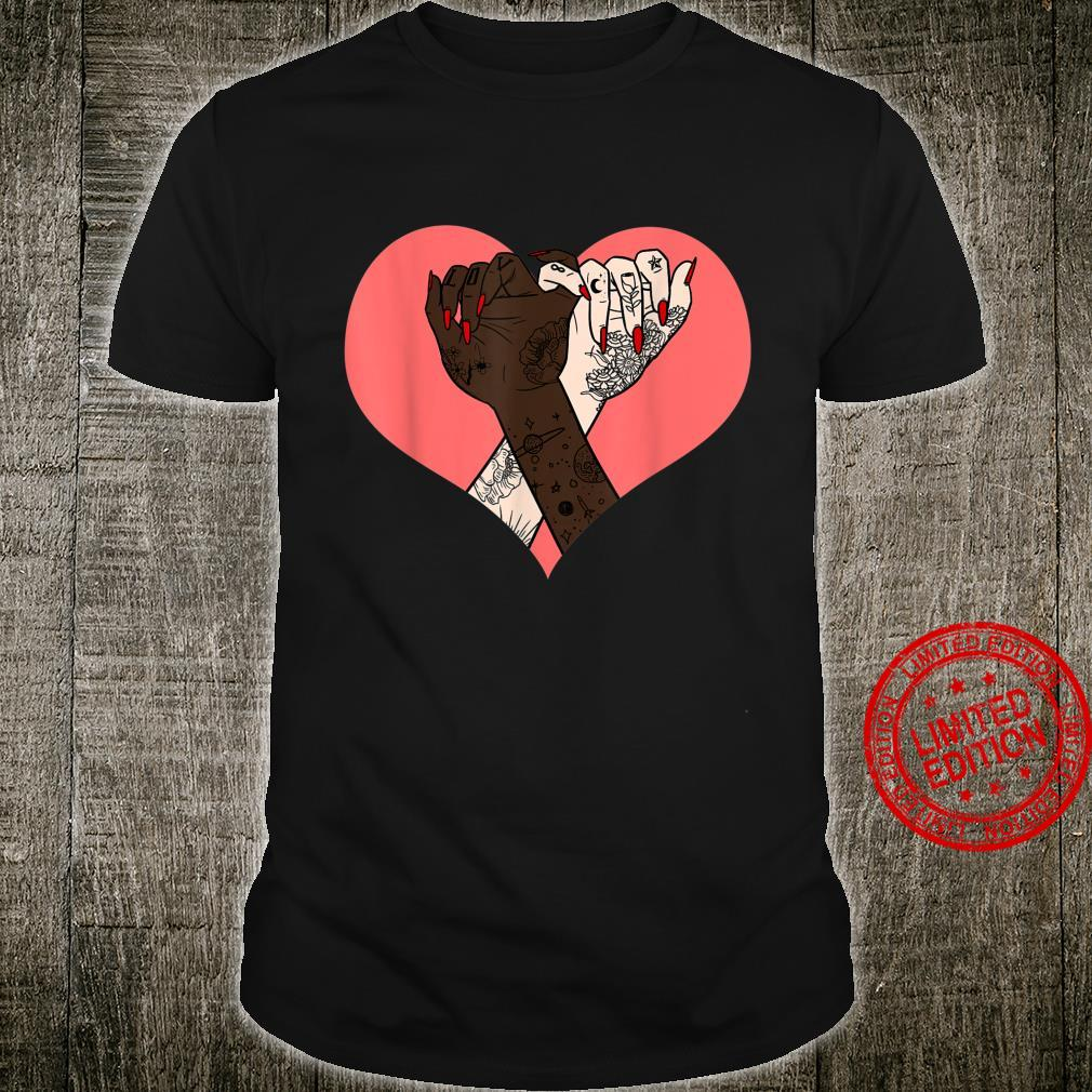 Black White Promise Heart Protest BLM Equality Africa Shirt