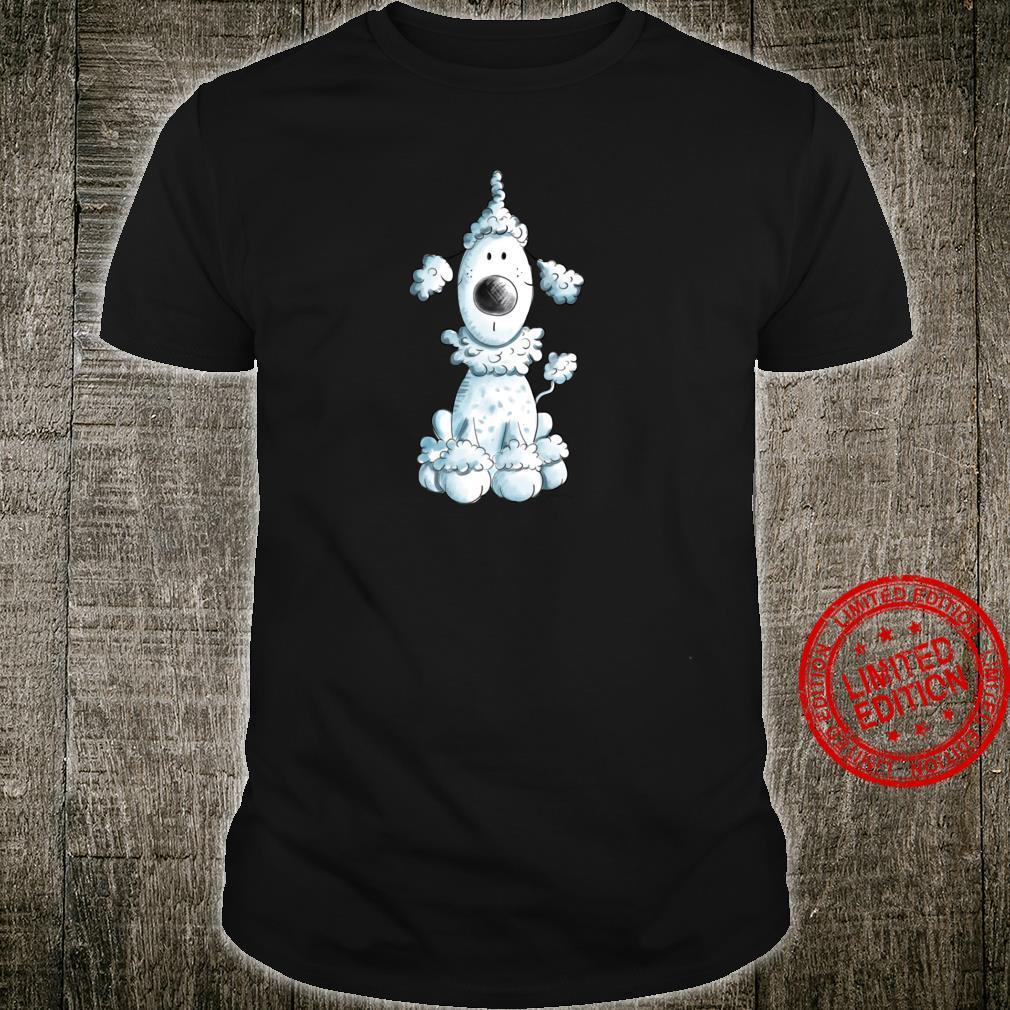Blauer Pudel I Pudelhund Freunde Design I Hunde Fan Shirt