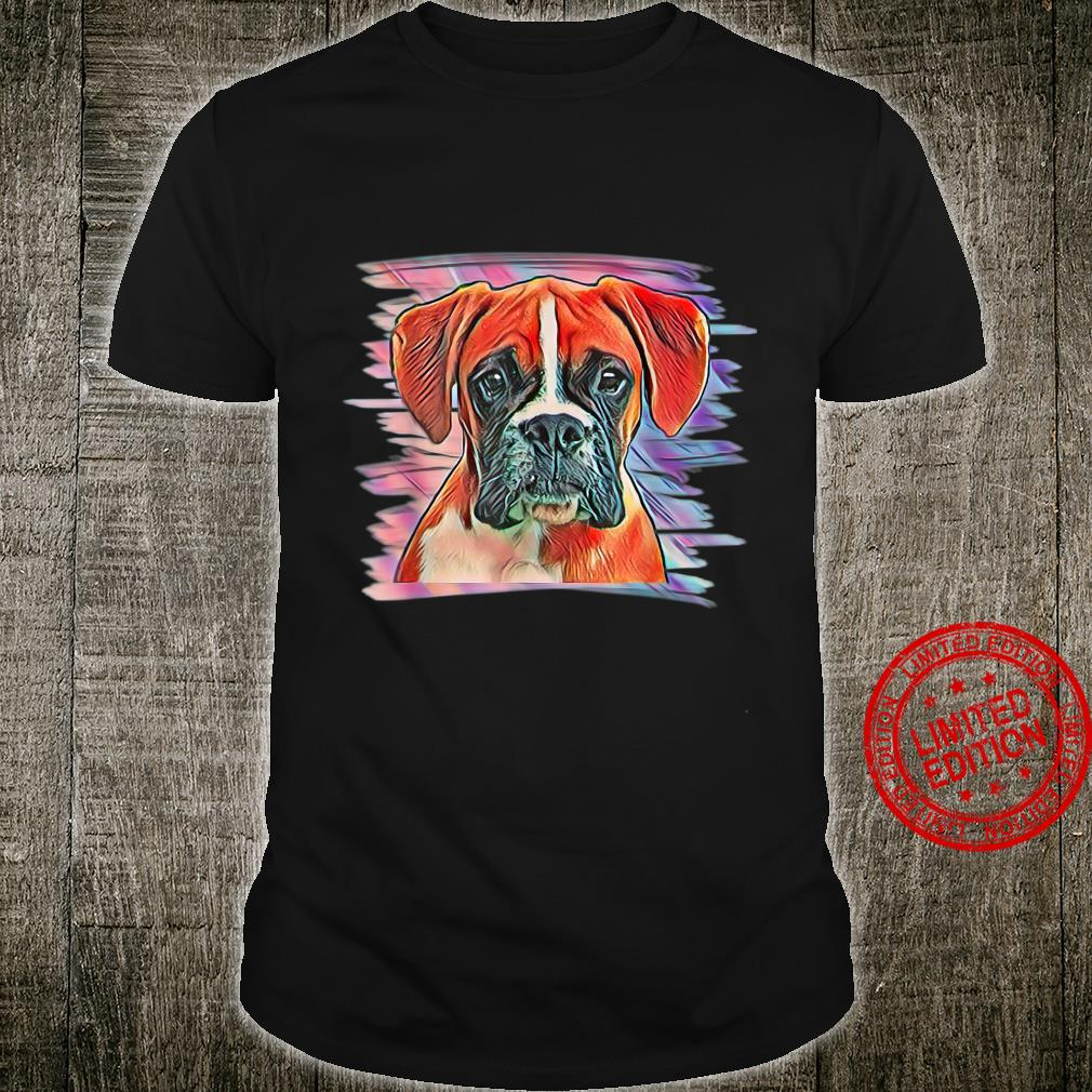 Boxer Hunde Shirt Herren Hundebesitzer Herrchen Damen Kinder Shirt