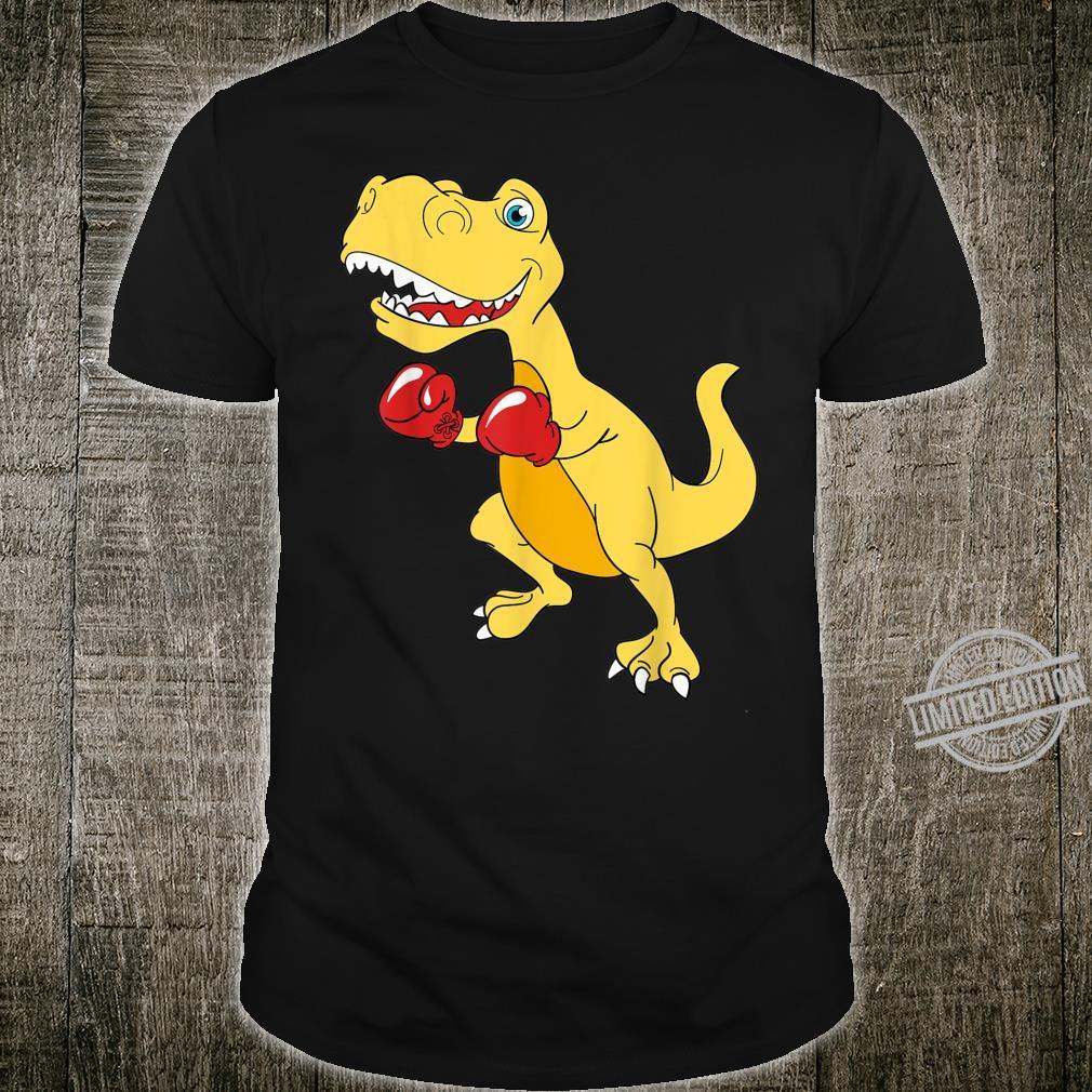 Boxing dinosaur ln Shirt