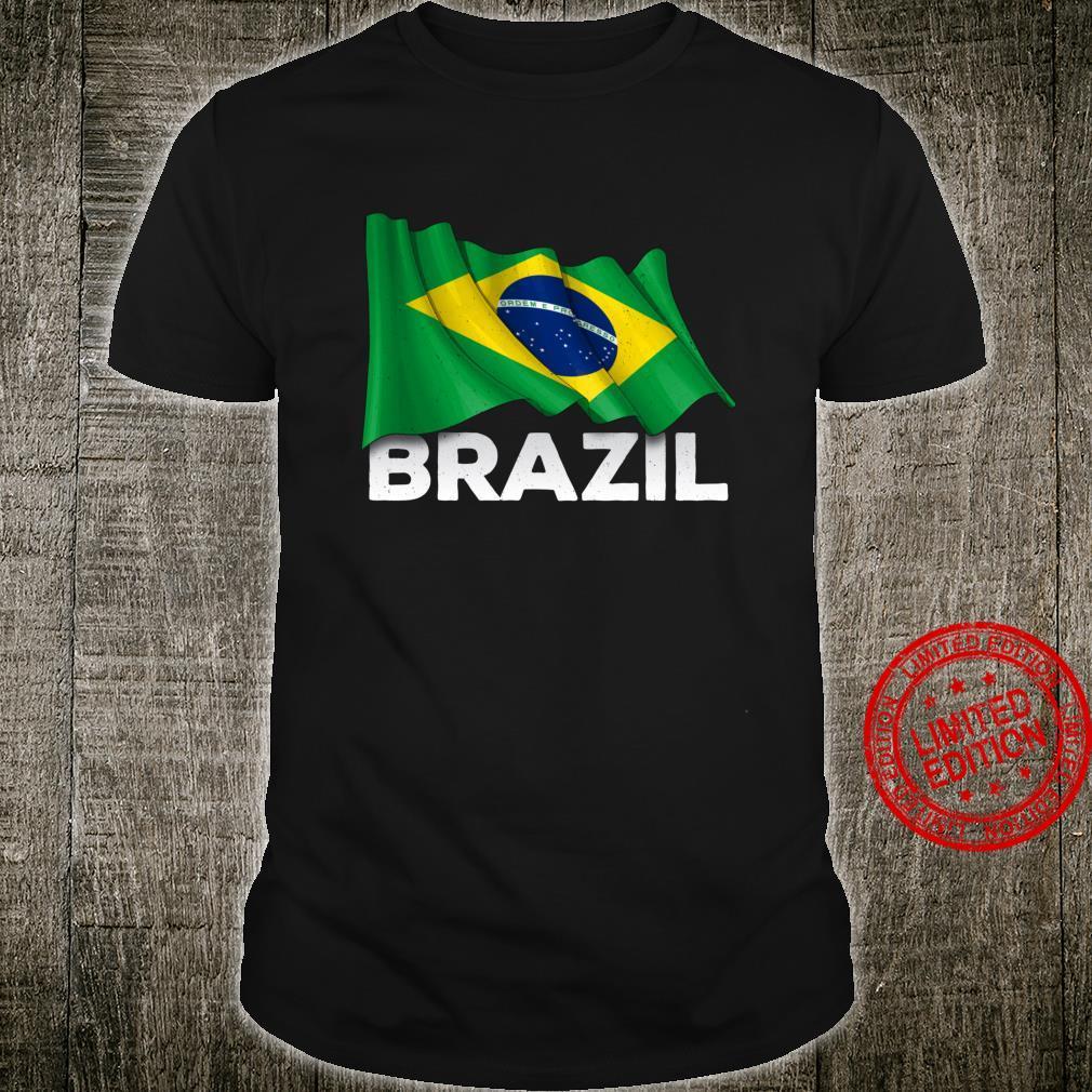 Brasilien mit brasilianischer Flagge Shirt