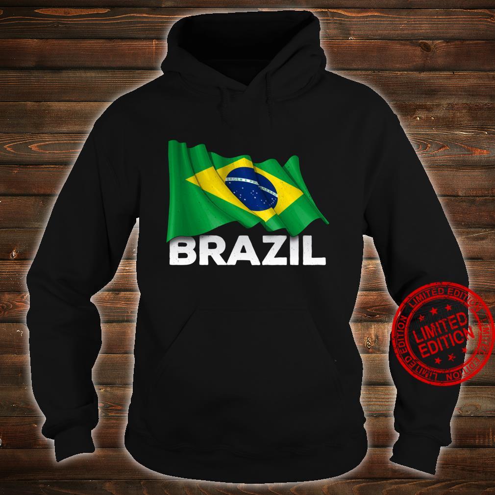 Brasilien mit brasilianischer Flagge Shirt hoodie