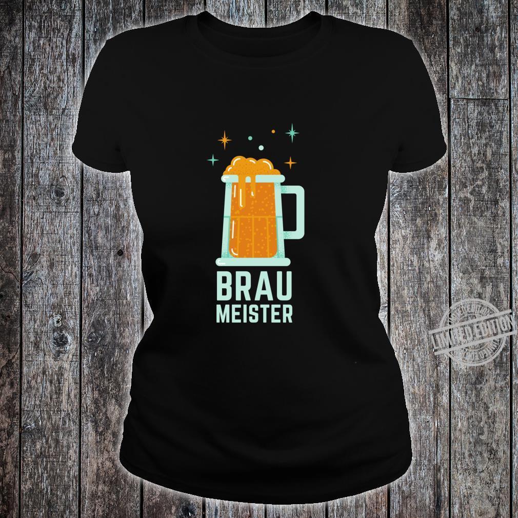 Braumeister Brauer Bierbrauen Brauerei Party Bier Geschenk Langarmshirt Shirt ladies tee