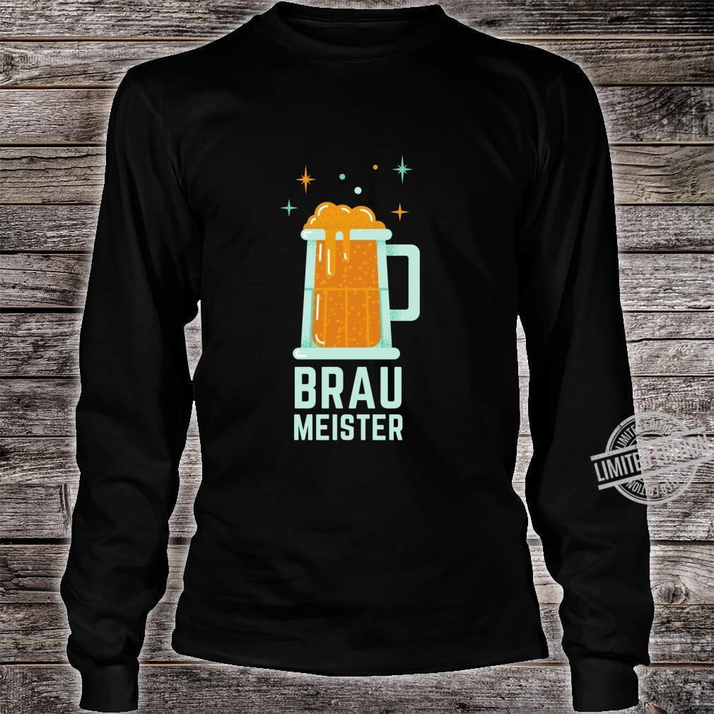 Braumeister Brauer Bierbrauen Brauerei Party Bier Geschenk Langarmshirt Shirt long sleeved