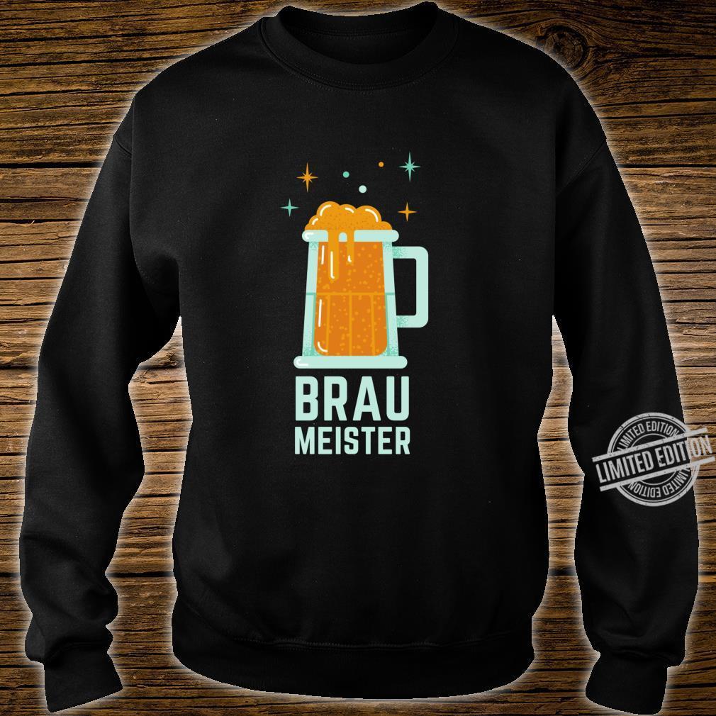 Braumeister Brauer Bierbrauen Brauerei Party Bier Geschenk Langarmshirt Shirt sweater