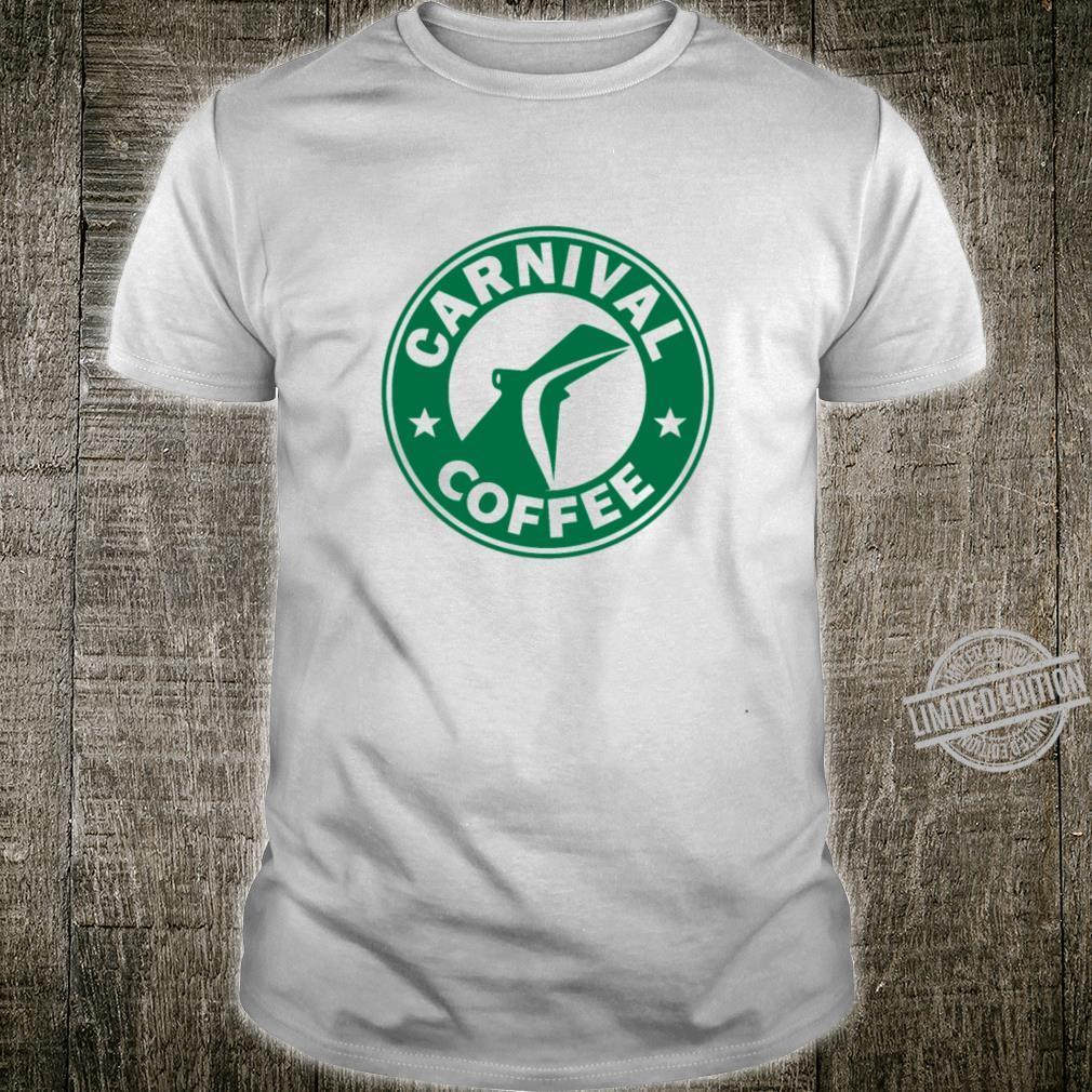 Carnival cruises starbucks coffee logo parody Shirt
