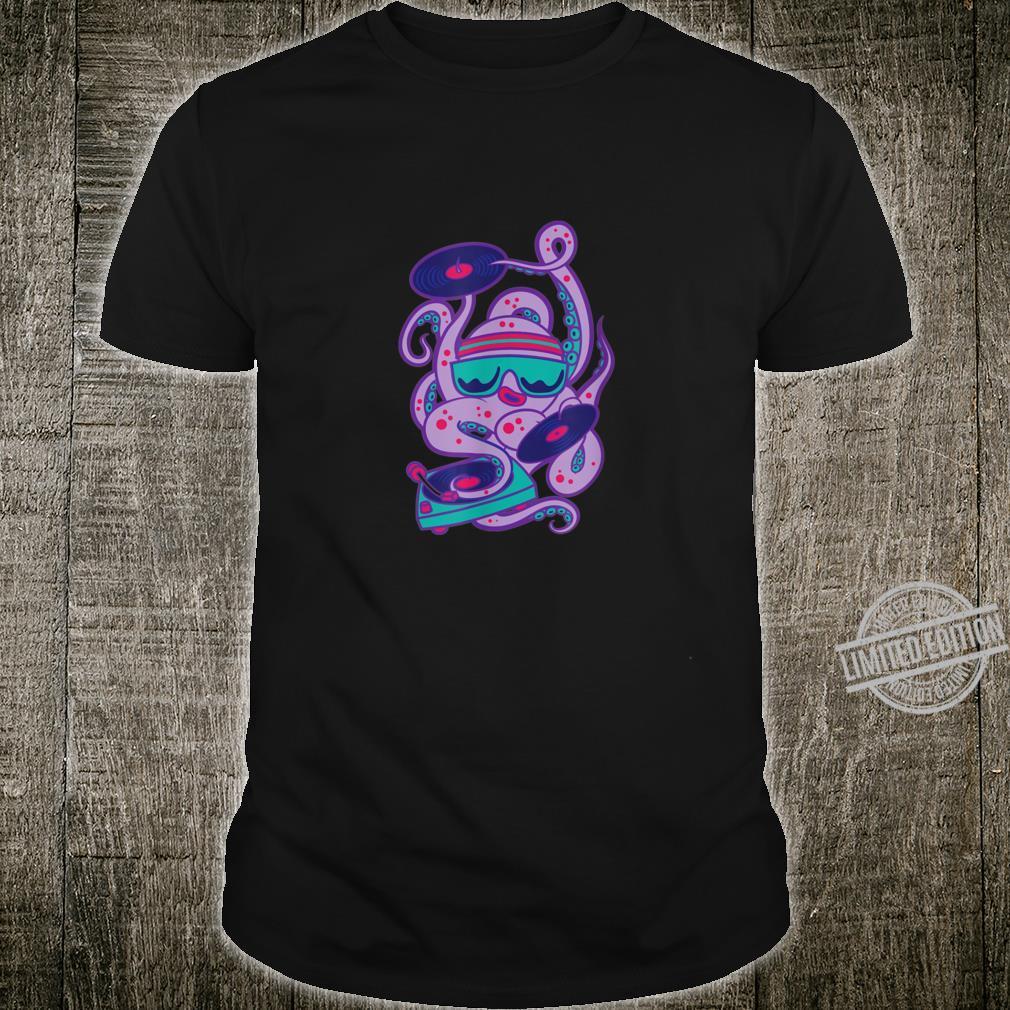 Cartoon Octopus Boy Summer Tops &s Shirt