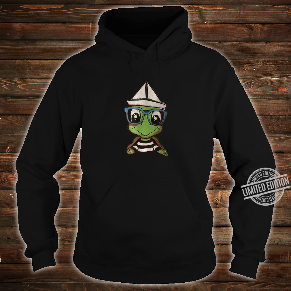 Cartoon Turtle Shirt hoodie