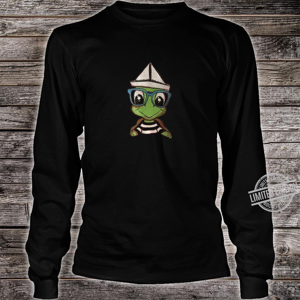Cartoon Turtle Shirt long sleeved