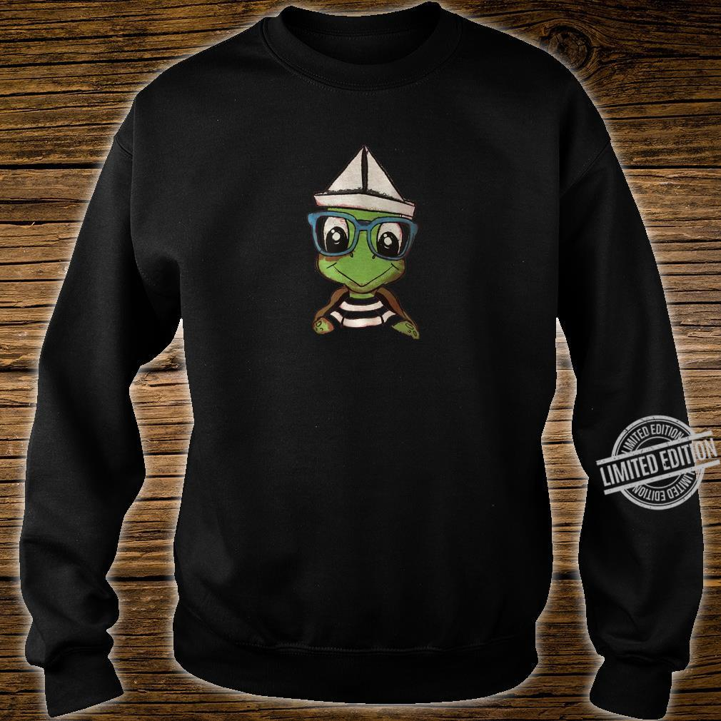 Cartoon Turtle Shirt sweater