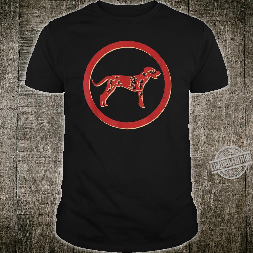 Catahoula Leopard Dog Retro Vintage Shirt
