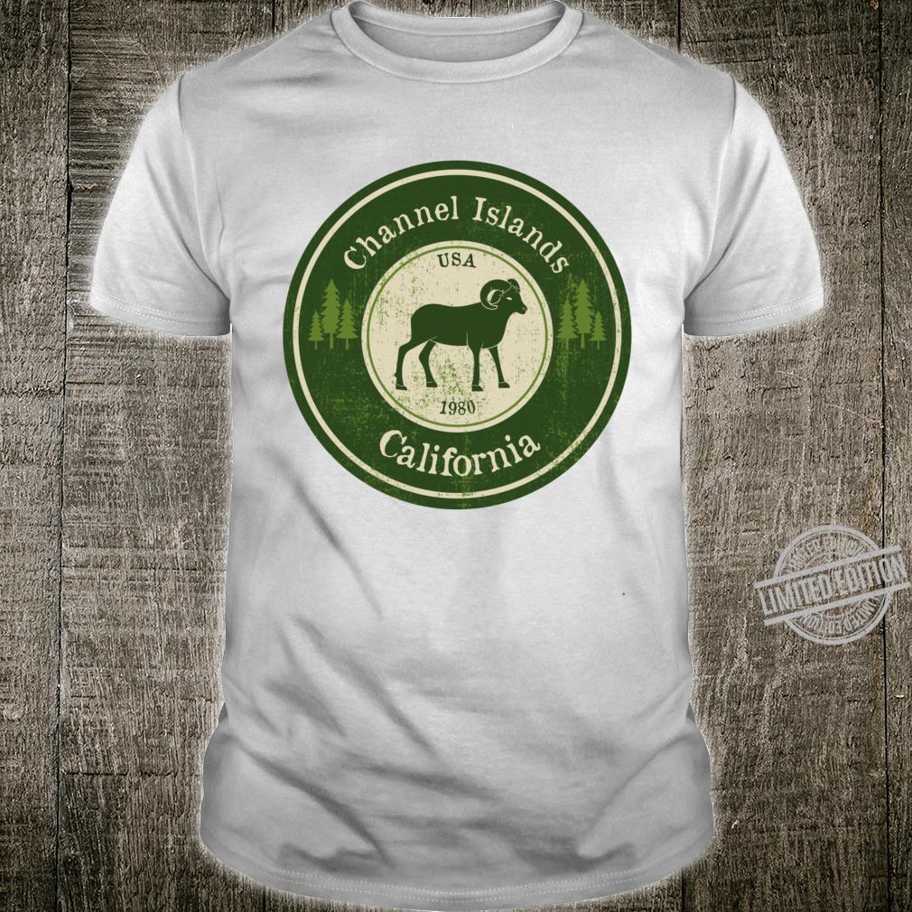 Channel Islands, California National Park Ram Racerback Shirt