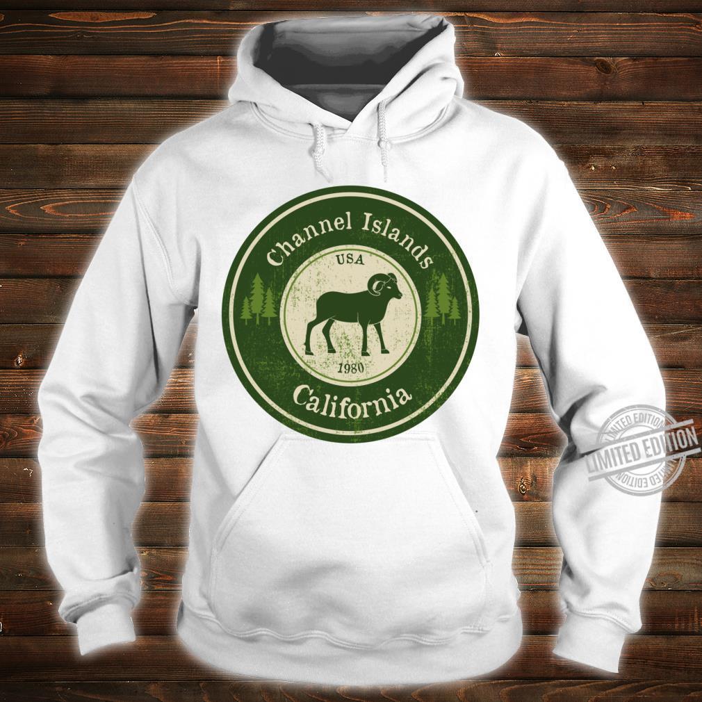 Channel Islands, California National Park Ram Racerback Shirt hoodie