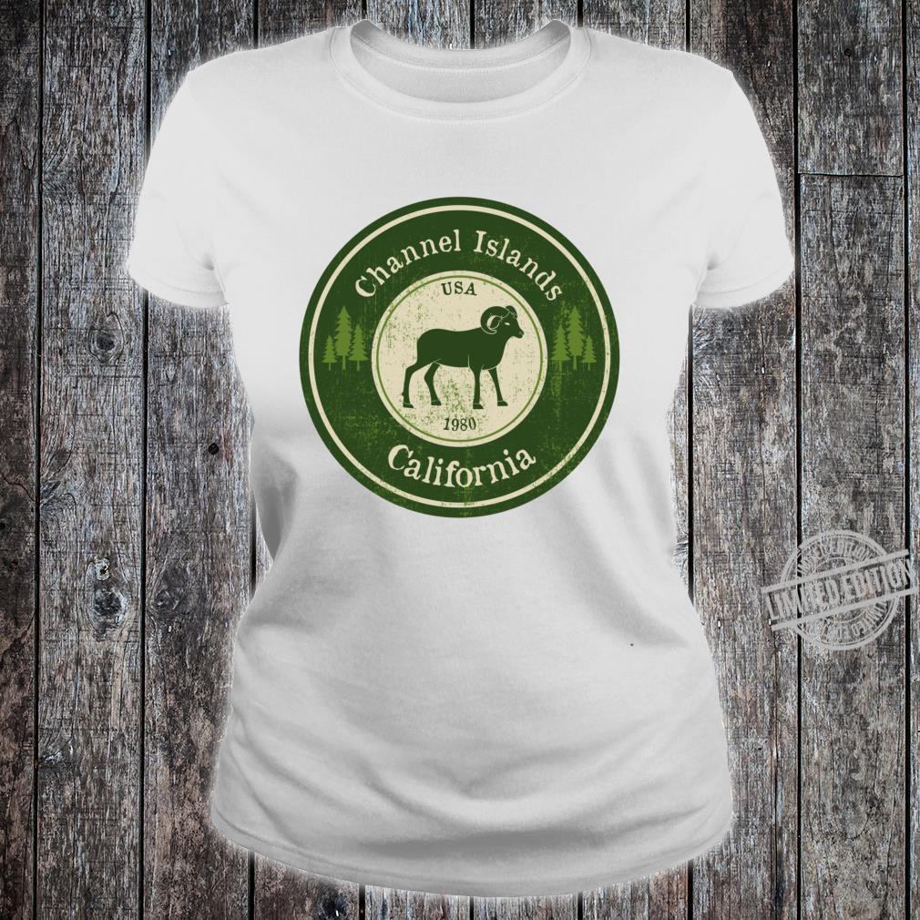 Channel Islands, California National Park Ram Racerback Shirt ladies tee
