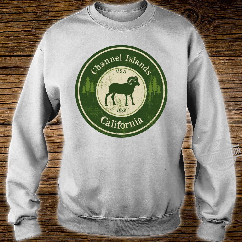 Channel Islands, California National Park Ram Racerback Shirt sweater
